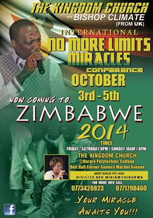No More Limits Zimbabwe Conference