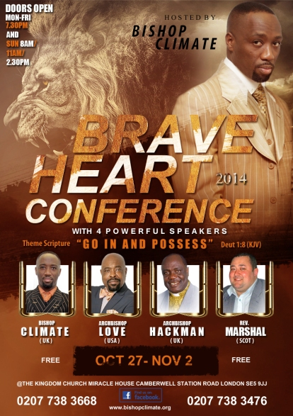 Braveheart conference 2014