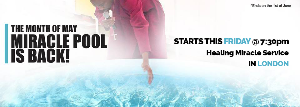 Prophet Climate Ministries miraclepool Watch Now The Miracle Pool Grand Opening Live .... In London