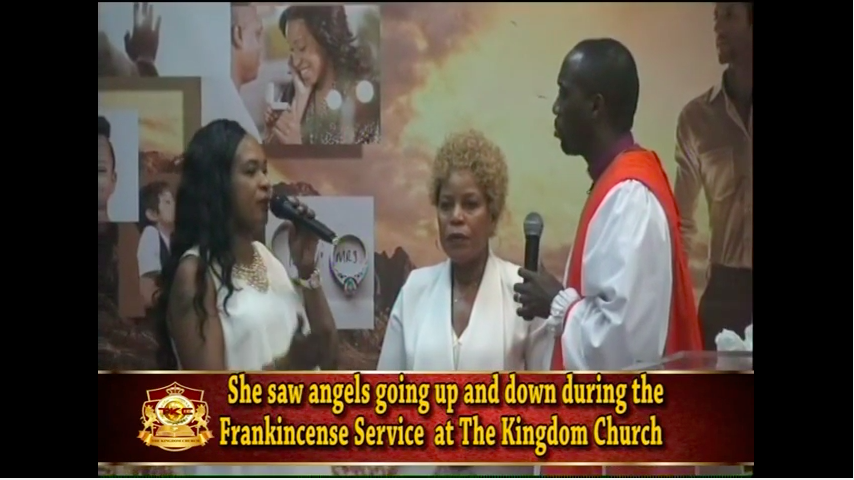 Bishop Climate Frankincense Miracle Service